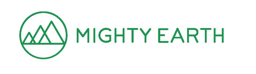 Image mighty earth logo horizontal rgb screen green