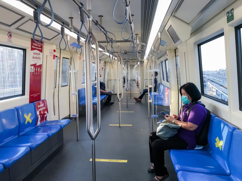 Image empty train pandemic dreamstime s 177184700